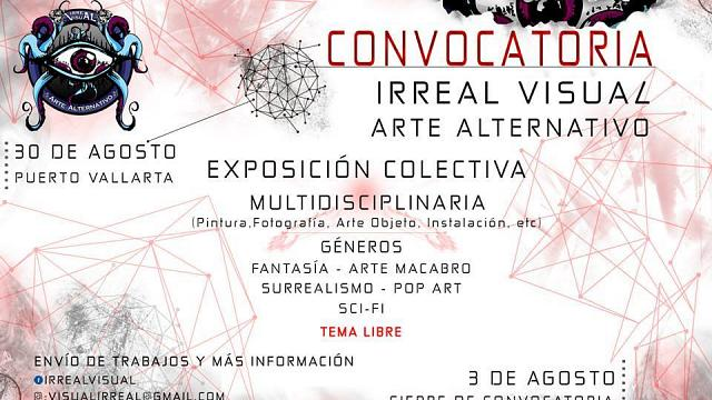Convocatoria Irreal Visual 30 de Agosto